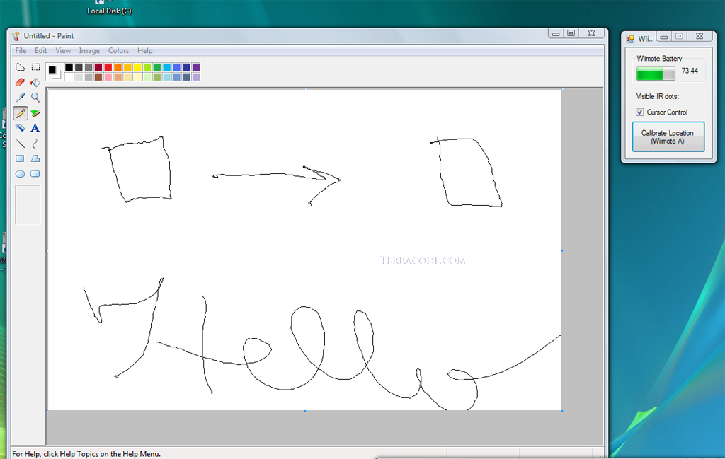 wiimote whiteboard software free